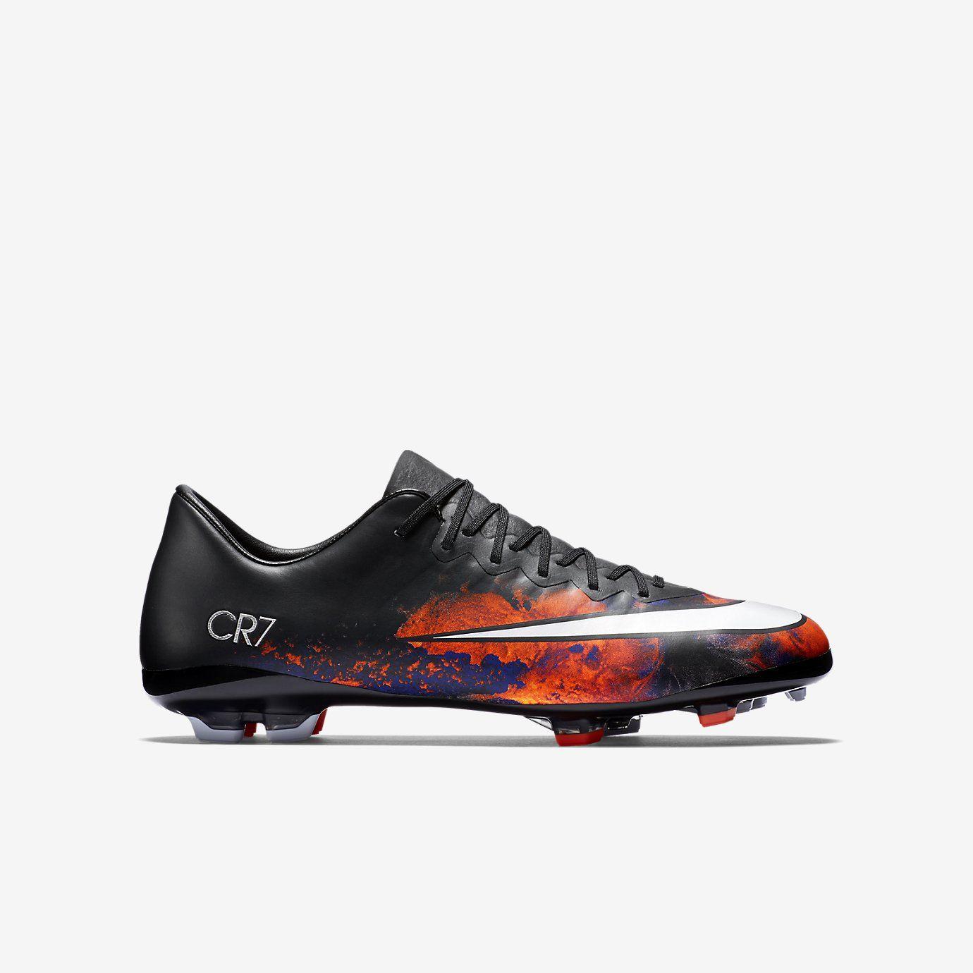 Nike Jr. Mercurial Vapor X CR7 Botas de fútbol para terreno firme - FG -  Niños. Nike.com (ES) 039484beaa377