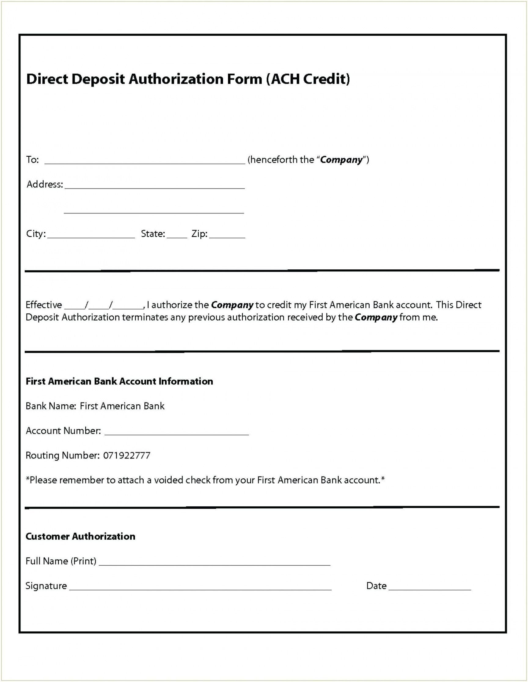 The document will collect information such as personal information that. Get Our Image Of Direct Deposit Request Form Template Deposit Templates Directions