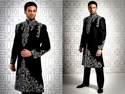 Image result for black kurta with polo pants photo