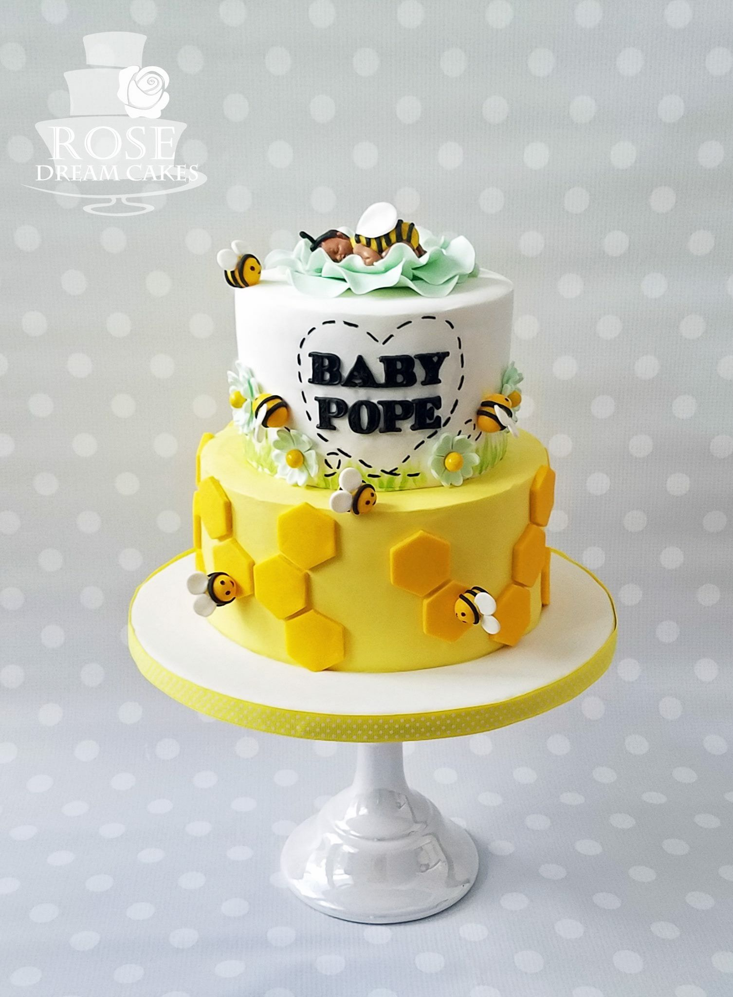 Baby Shower Cake By Rose Dream Cakes