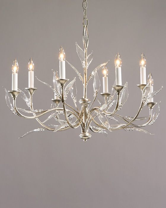 Murano Glass Chandelier Hand Wrought Iron Chandelier With Murano