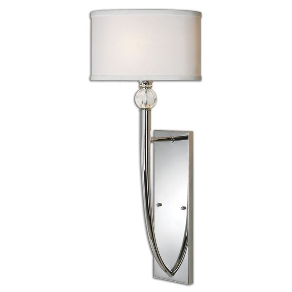 Delicieux Uttermost Vanalen 1 Light Polished Chrome Wall Sconce