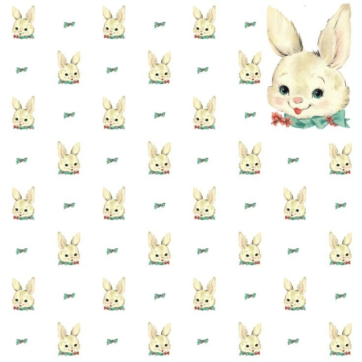 A4 Decoupage Paper// Premium Grade//Scrapbooking//Vintage Rabbits//Classic