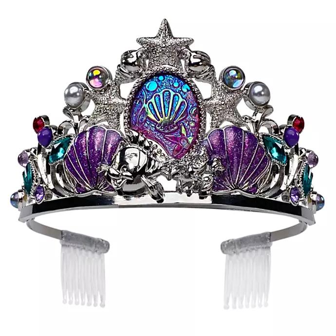 Disney Crown Tiara Pin The Little Mermaid Princess Ariel