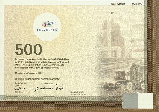 500 Com Aktie