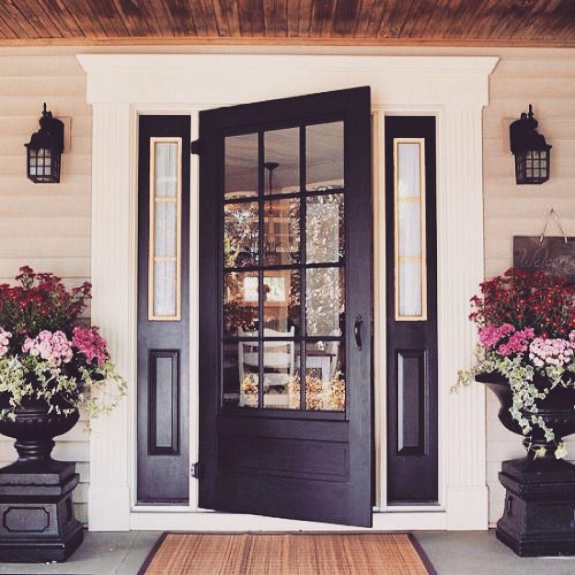 Charming front door.