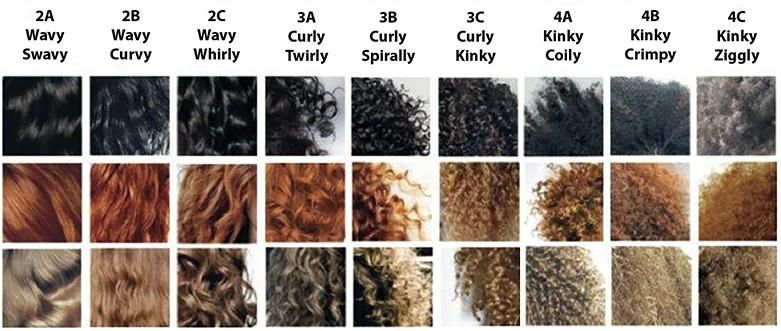 Different Styles Of Curly Hair: What Type Of Curly Hair Do YOU Have? In 2019