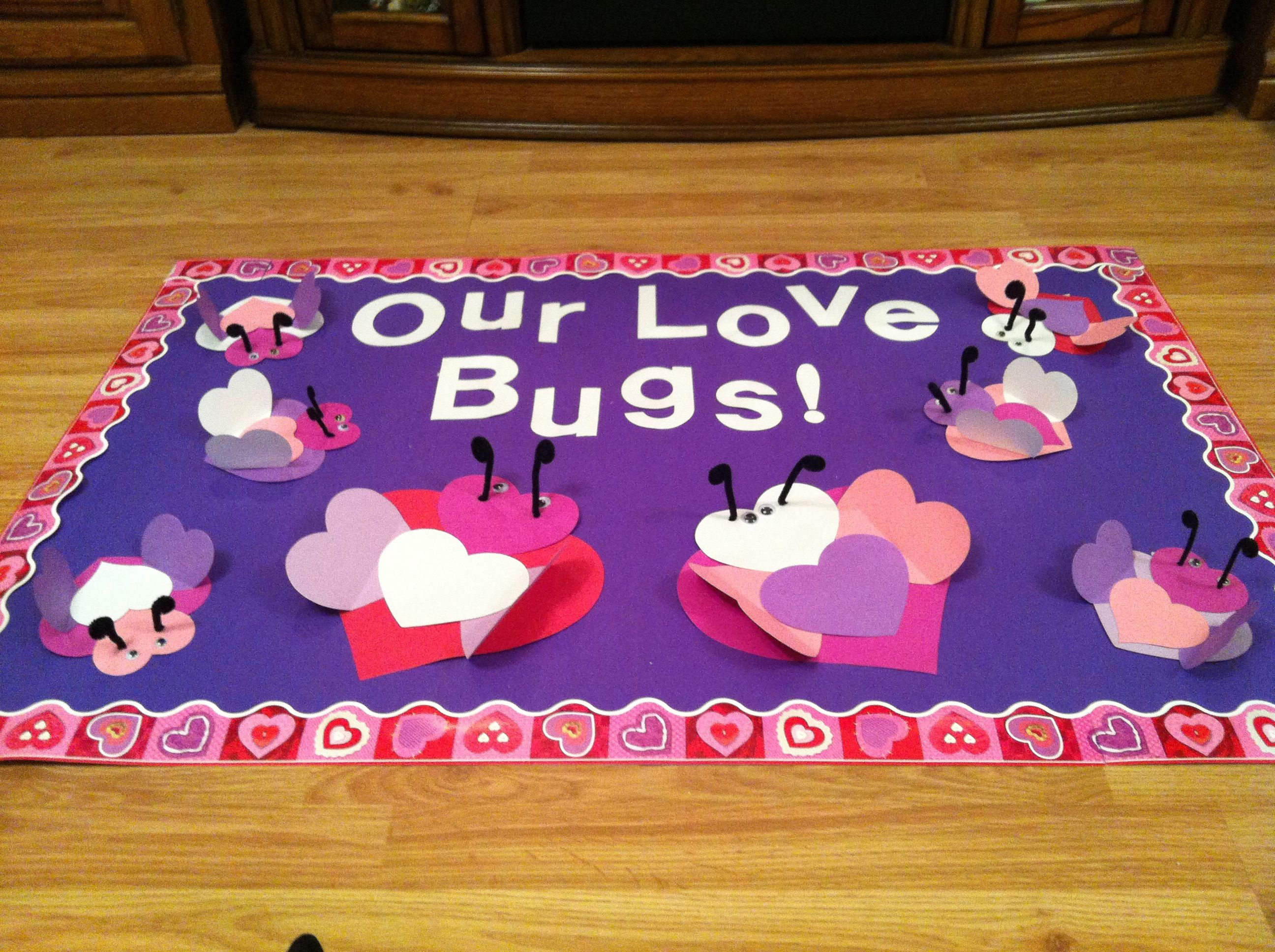 Bulletin Board Ideas For February Preschool