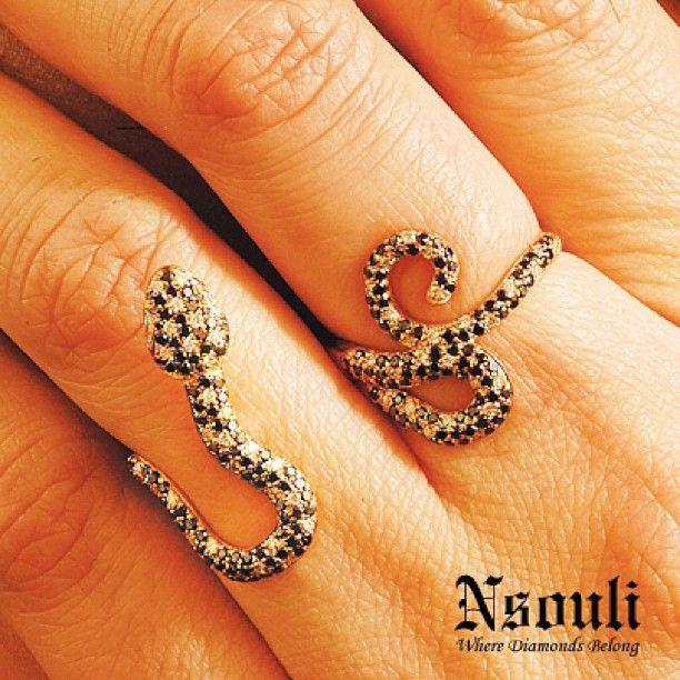#rings#jewelry#preciousstones#diamonds#fashion #fashionaddict #stylish #trendy #snakes
