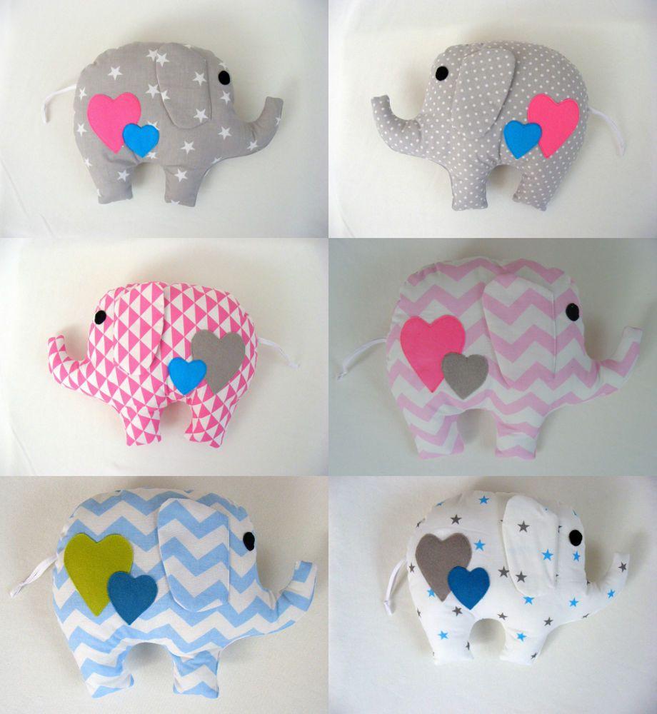 Horse shaped pillows for children - Gorgeous Handmade Elephant Pillow Baby Gift Handmade Kids Room Girl Boy