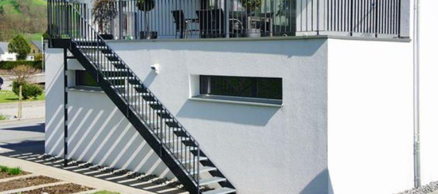 Escaleras para exterior | Escaleras para exteriores, Escalera y ...