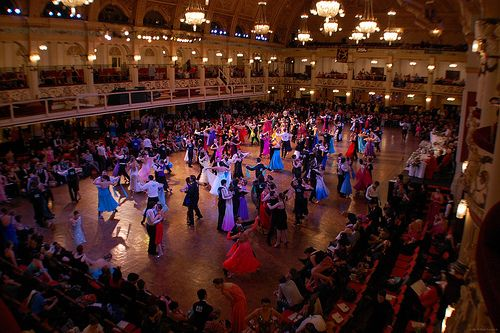 2cba63fae59c Blackpool Dance Festival, England World's Largest Ballroom Competition
