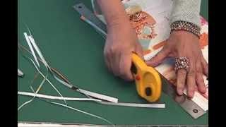 How to: Make Round Paper Beads, Pt 1, by JaniceMae, via YouTube.