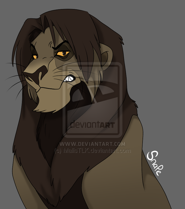 Turn to page 394 by MalisTLK on DeviantArt Snape as a lion