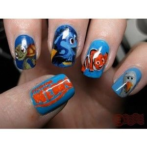 Nemo nails – these are sooo amazing