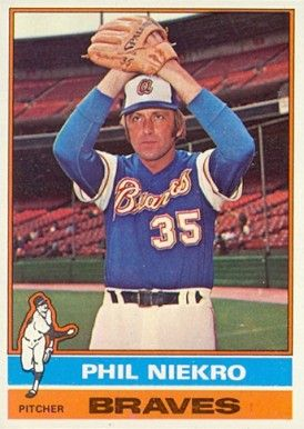 Phil Niekro Baseball Hall Of Wayne Baseball Card Values