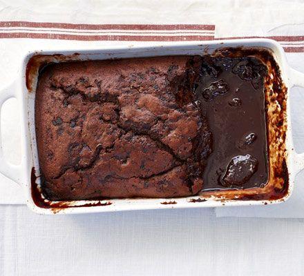 Self saucing chocolate pudding recept desszert forumfinder Images