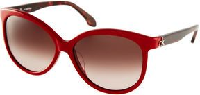 ddce2ad25610 shopstyle.com: CK by Calvin Klein Two Tone Cat Eye Sunglasses | My ...