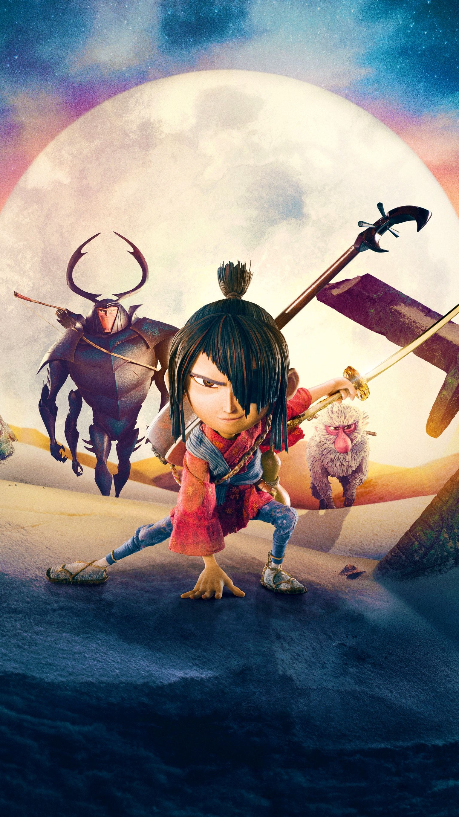 Kubo And The Two Strings 2016 Phone Wallpaper Movie Wallpapers