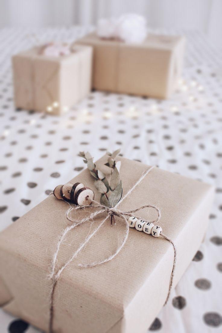DIY Geschenke verpacken - 3 kreative Ideen um Geschenke zu verpacken #gifts