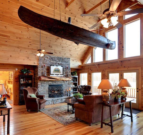 Jocassee Log Cabin Floor Plans built by Blue Ridge Log Cabins