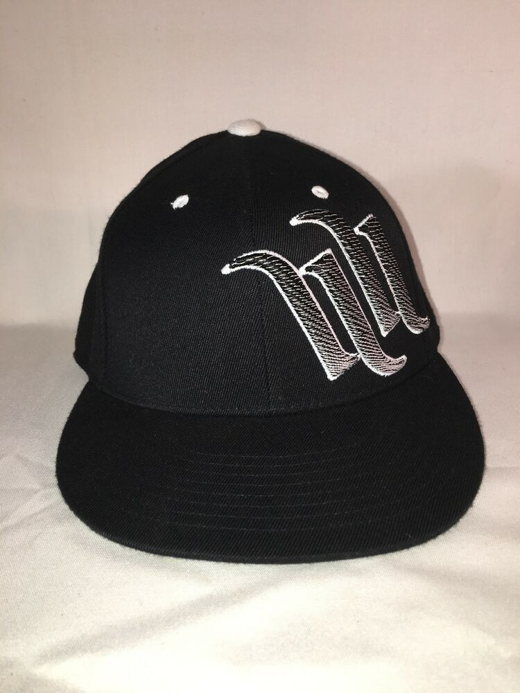 Hart and huntington black cap 6 78 7 14 fitted