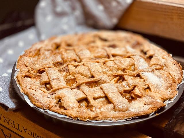 El Auténtico Apple Pie Americano Tarta De Manzana Fácil Pie De Manzana Relleno De Manzana