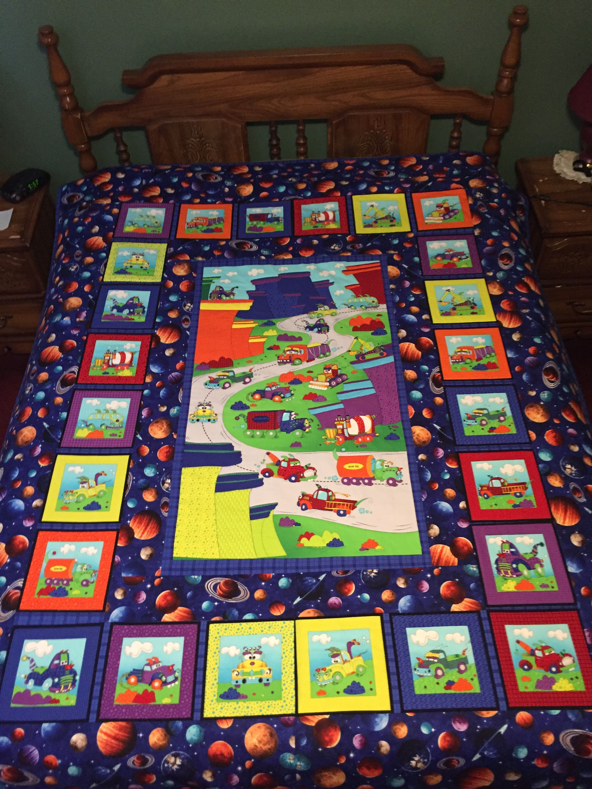 Twin Bedspread For An Awesome Little Boy With Images