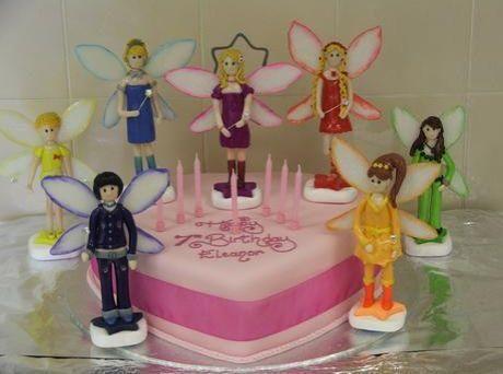 Rainbow Magic Fairy Cake Toppers