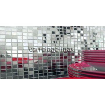 Mosaique Inox Carrelage Cuisine Mosaique Douche Miroir Mix