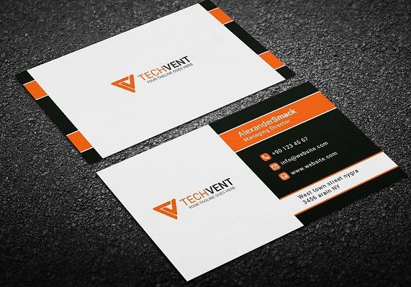 simple business card template word