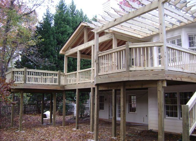 building a screened in porch porch decking and pergolas