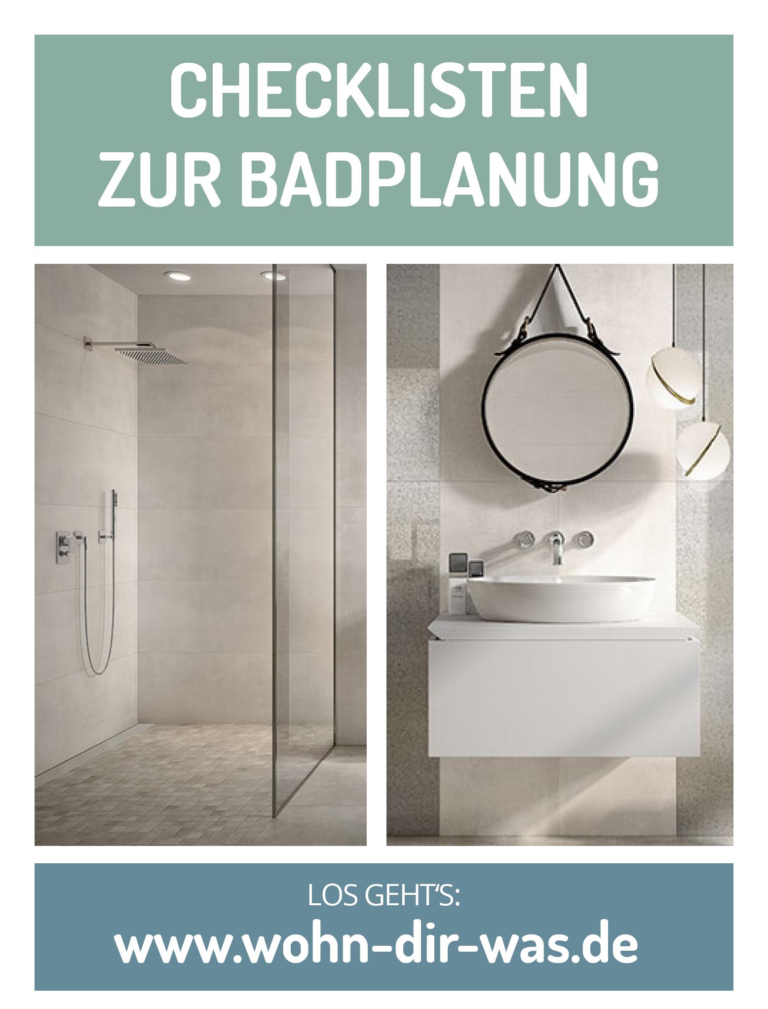 Badezimmer Richtig Planen Mit Unterstutzung Von Wohn Dir Was Runde Badezimmerspiegel Badezimmer Schone Badezimmer