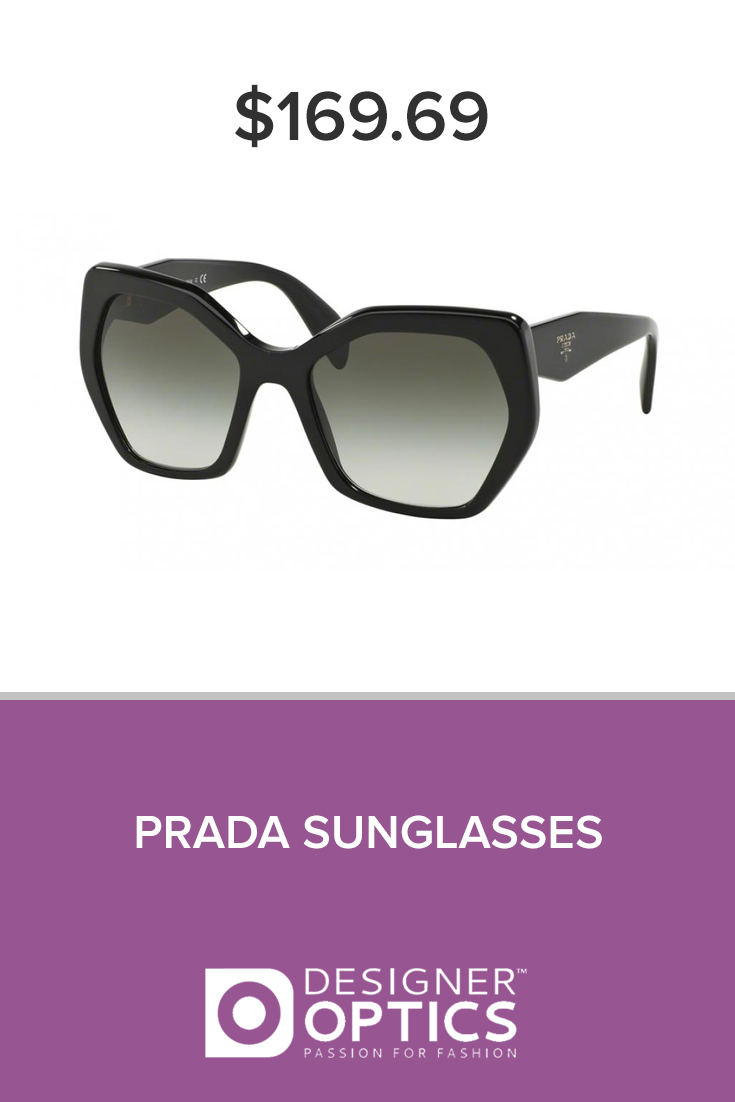 6b99418a779 Geometric is in with Prada sunglasses. Designer Optic Affordable Glasses is  a selection of quality eyewear at a great price. We provide the following  to ...