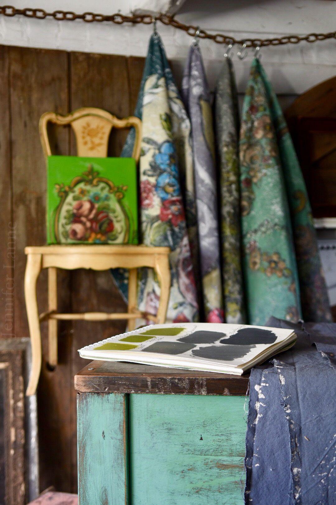 In the studio jennifer lanne paintings shop interiors