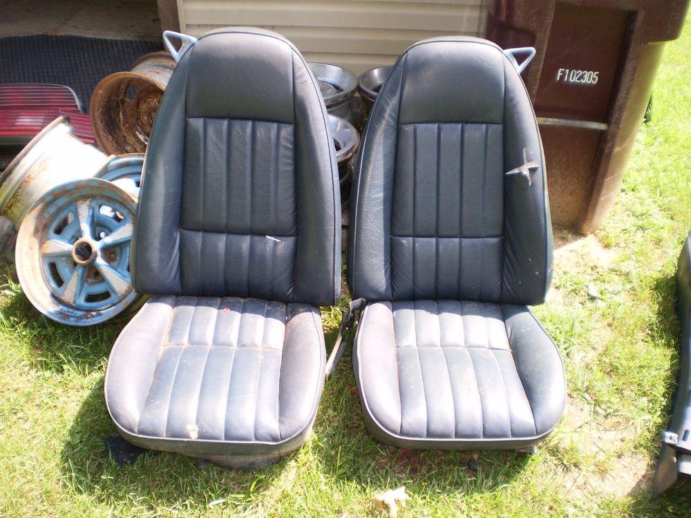 7081 CAMARO FIREBIRD TRANS AM FORMULA FRONT BUCKET SEATS