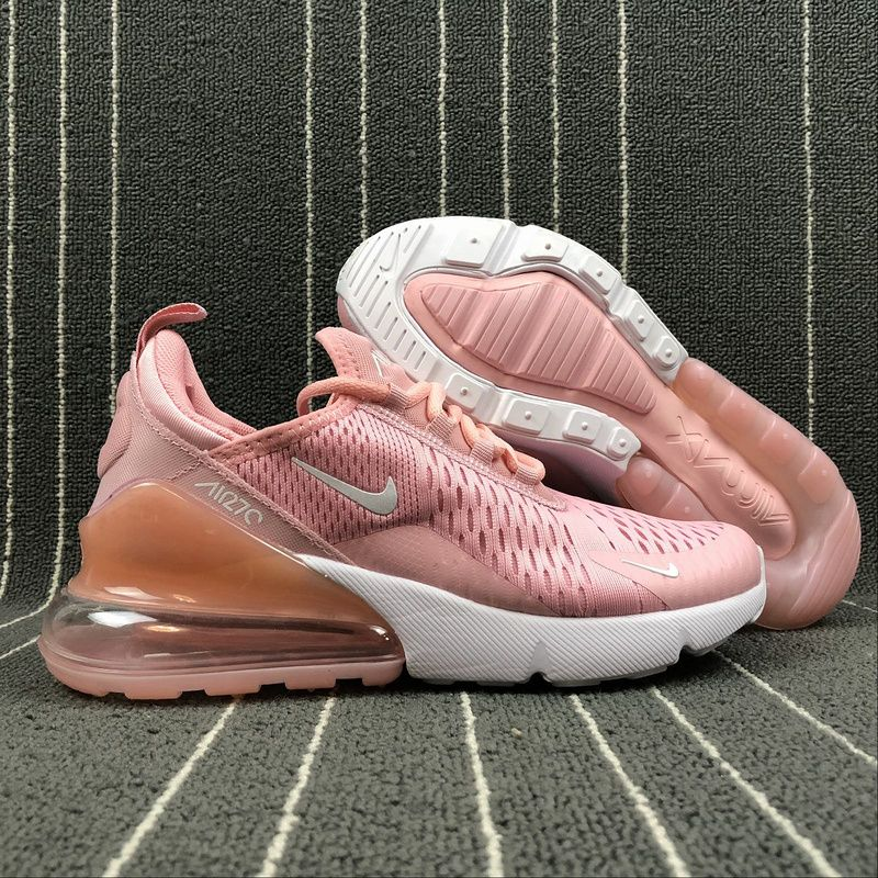 f5978d83 Perfect Nike Air Max 270 Retro Pink / White Women Casual shoes Sneaker  AH8050-610