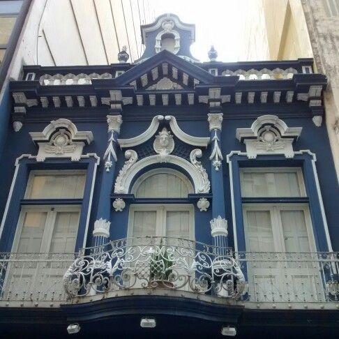 Rua dos Andradas em Porto Alegre, RS