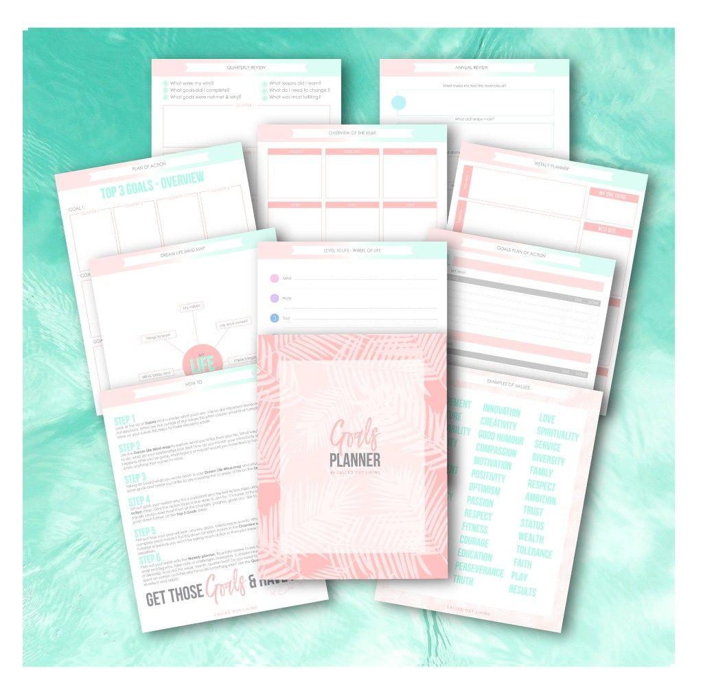 Goal Planner Free Printable