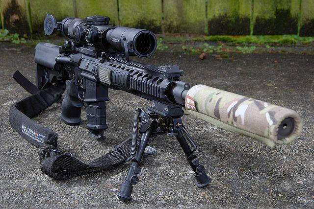 Mk12 Mod 1 SPR with U.S. Optics SN-3 T-PAL 1.8-10x37mm C2 ...