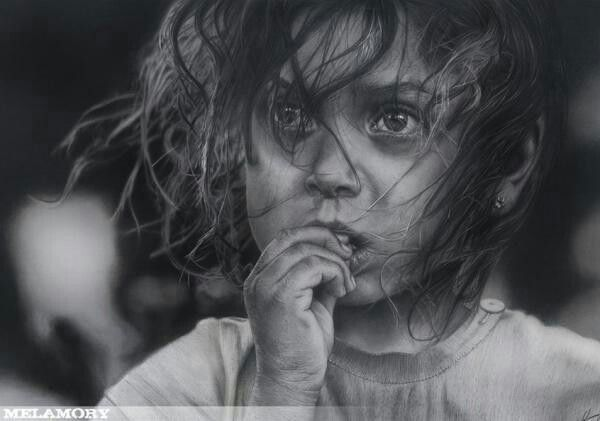 Pencil sketch by amazing russian artist olga melamory