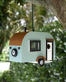 Garden - Caravan Bird House :: EziBuy (Australia) | Garden Junk ...