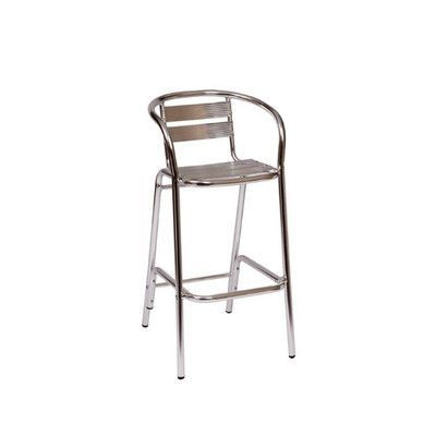 Lovely Outdoor Aluminum Bar Stools