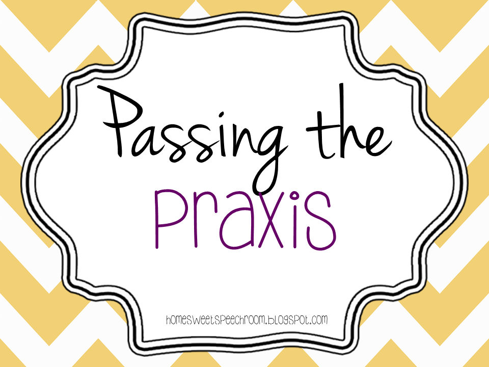 What should I know for the PRAXIS I test?
