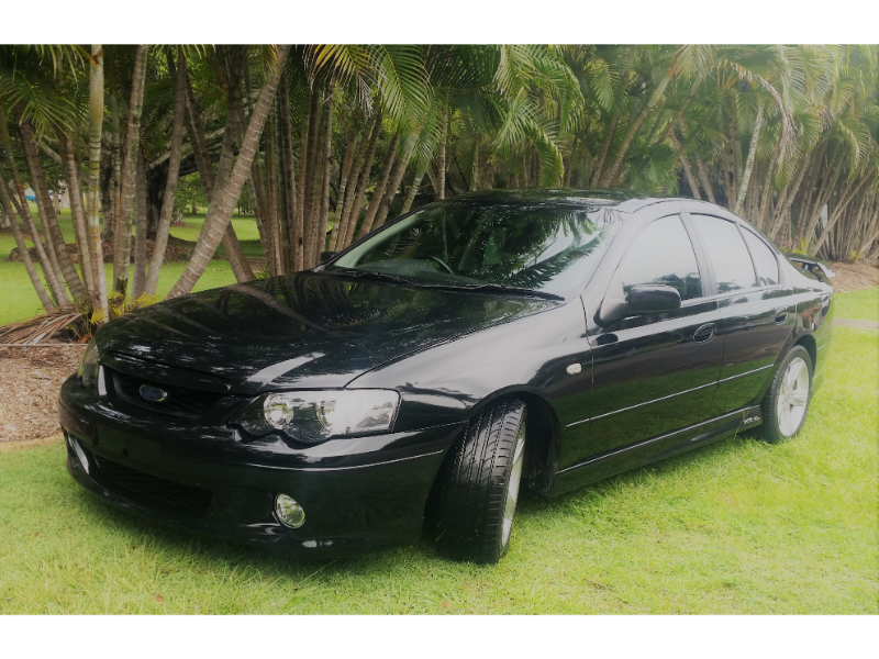 Ford Falcon Ba Mkii Xr6 Turbo 2005 Black Leather Interior 6