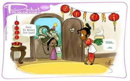 64 Trendy funny disney mulan pocket princesses #pocketprincesses