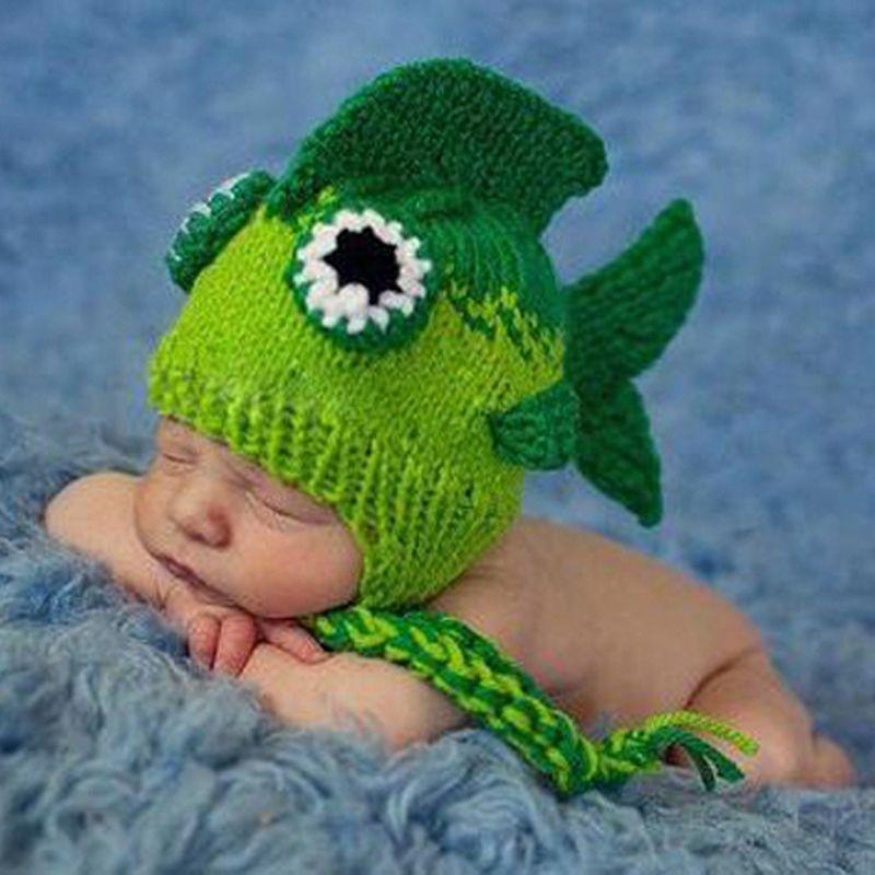 Cheap Hechos a mano Crochet bebé recién nacido fotografía Hat ...