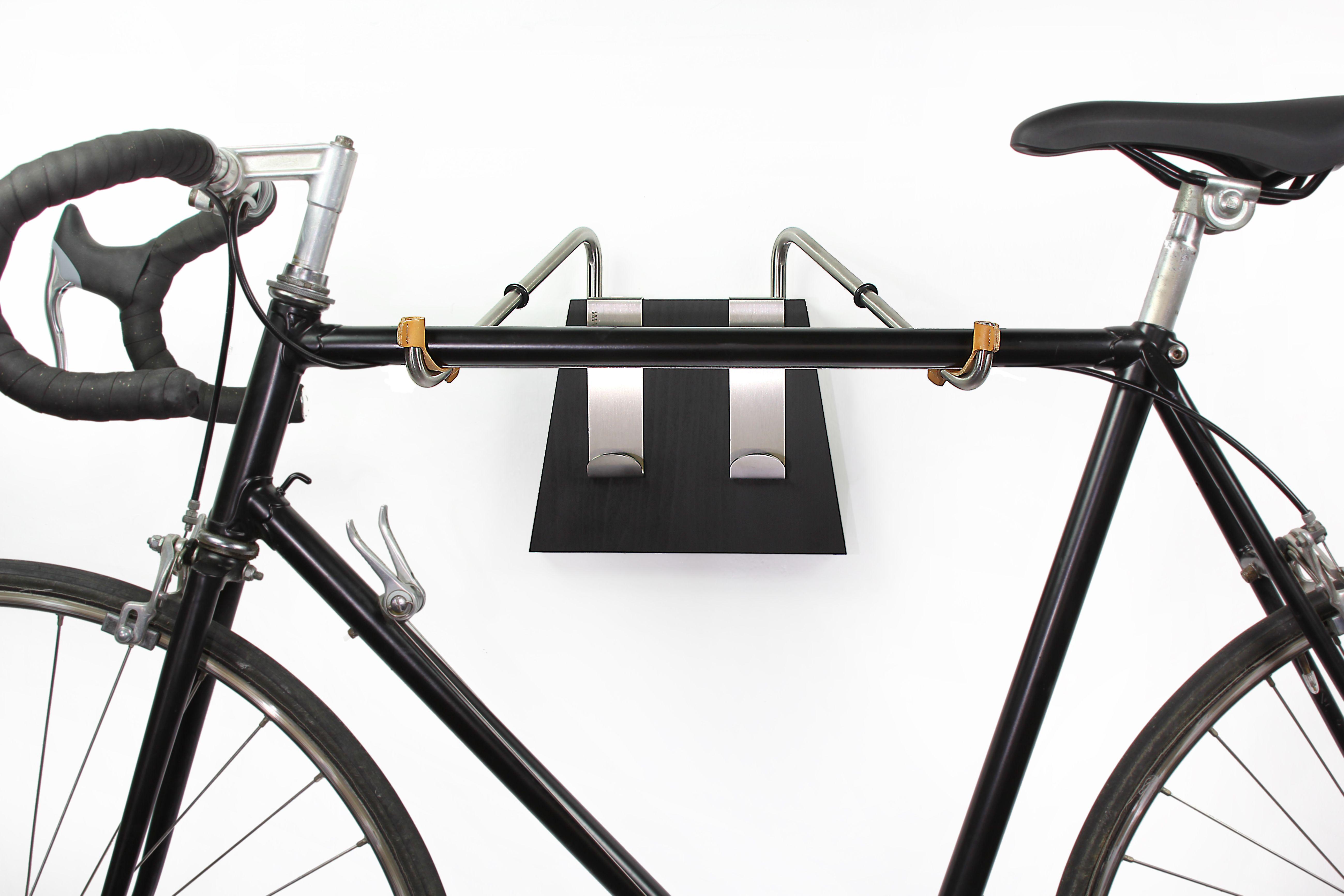 Fahrradwandhalter Black Von Opossum Design Mit An Die Wand