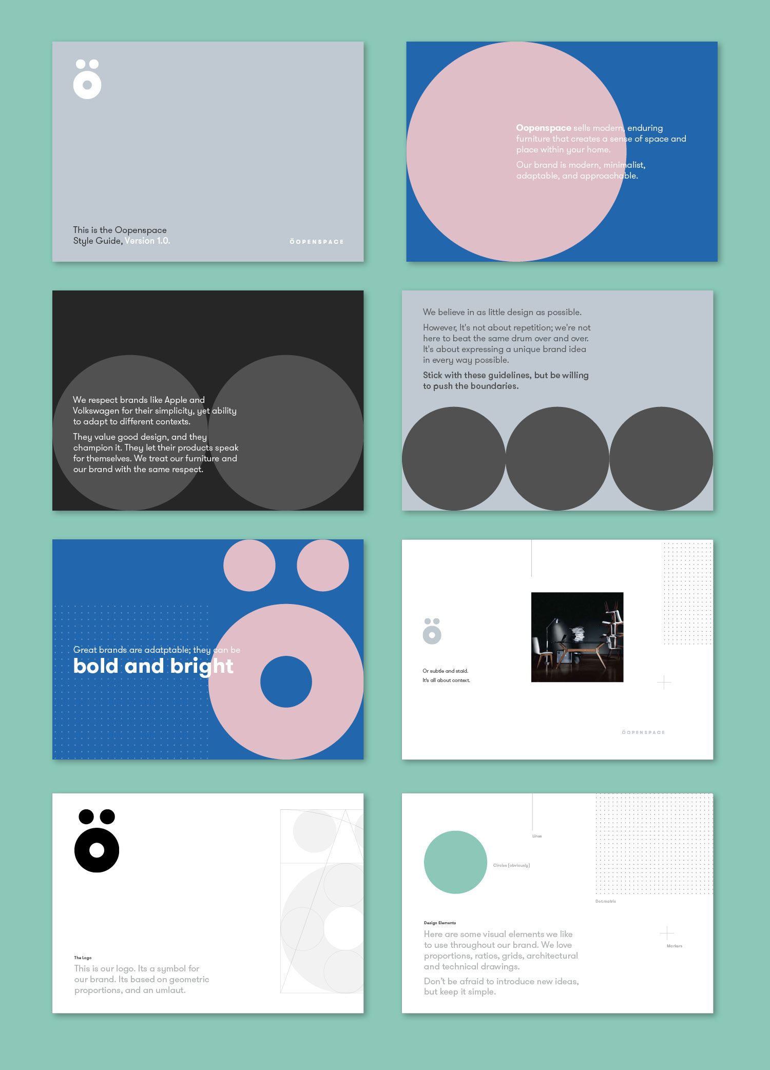 –openspace on Behance BRANDING GUIDELINES & VALUES