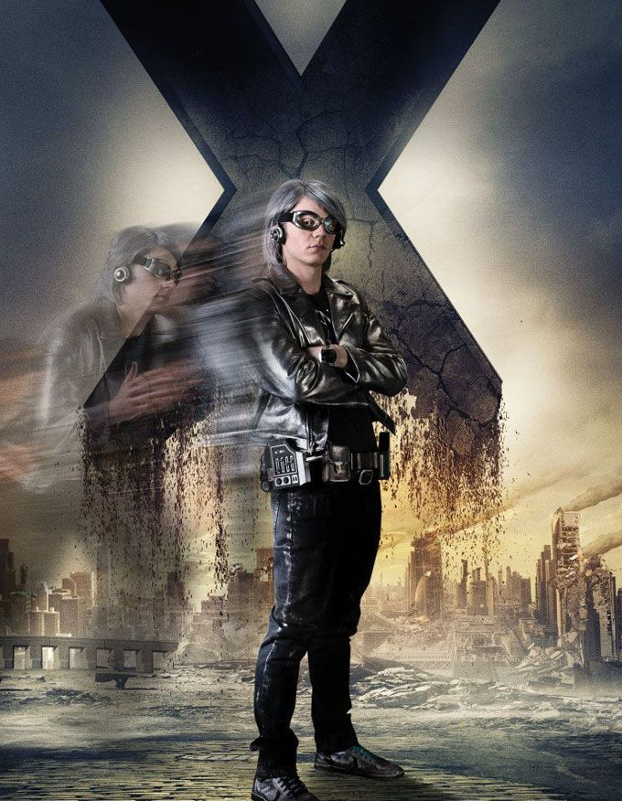 X Men Days of Future Past Character Poster Quicksilver X ...